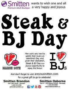 Day steak and blowjob