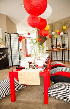 Kara's Party Ideas Ninjago -Ninja Lego- 7th Birthday Party {Planning, Ideas, Decor}