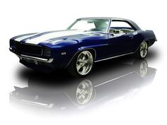 1969 Chevrolet Camaro LS2 425 HP Pro Touring in Impulse Blue