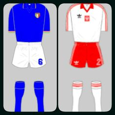 Italy 0 Poland 0 in 1982 in Vigo. Both teams seemed comfortable with the draw in Group 1 at the World Cup Finals.