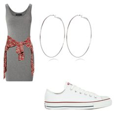 Pretty Gang by tiaramb11 on Polyvore featuring polyvore, fashion, style, Modström, R13, Converse, River Island and clothing