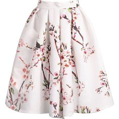White Polyester Skirts, S, M Polyester White Length(cm): S:64cm, M:65cm Size Available: S,M.