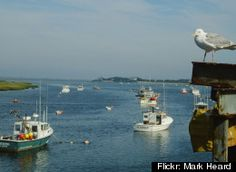 Coastal Living magazine just released its first ever list of America's happiest seaside towns. My Dream in Life!!!