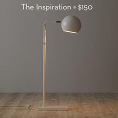 """Is this knockoff floor lamp better than the original? If your answer is """"yes"""" then you'll want to check out the how-to."""