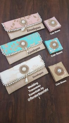 Envelope, Decorative Boxes, Weddings, Home Decor, Envelopes, Decoration Home, Room Decor, Wedding, Home Interior Design