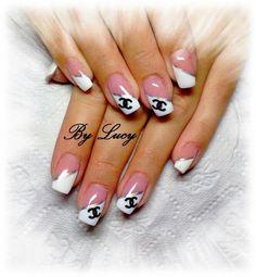 beautiful channel nails x