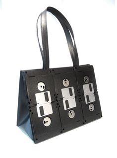 Diskette handbag