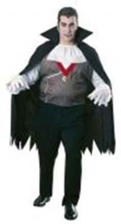 Mens Halloween Vampire Costume Fancy Dress Up Party