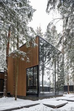 Roma House | buro511 Biophilic Architecture, Architecture Design, Scandinavian Architecture, Time Goes Back, Forest House, Brutalist, Decoration, Building A House, Exterior