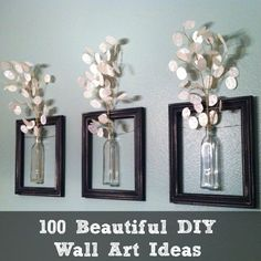 100 Beautiful DIY Wall Art Ideas | DIY Cozy Home