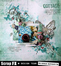 Cottage by Riikka Kovasin for Scrap FX