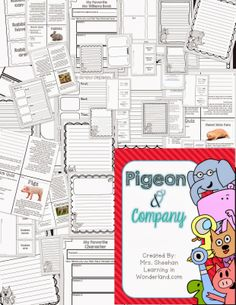 Pigeon and Company. Informational text resources to use with Mo Willems books!