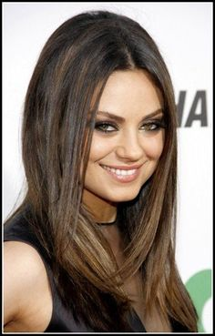 Straight Hairstyles 2020 Medium Straight Hairstyles Trends Mila Kunis Hair Of 98 Best Straight Hairstyles 2020 Oval Face Hairstyles, Haircuts For Long Hair, Straight Hairstyles, Cool Hairstyles, Famous Hairstyles, Latest Hairstyles, Hairstyle Ideas, Hair Ideas, Wedding Hairstyles
