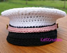 Crochet Military Inspired Hat – FREE Pattern!! | KatiDCreations