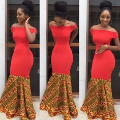 Clothing ideas on african fashion outfits 630 African Prom Dresses, Ankara Gowns, Ankara Dress, African Fashion Dresses, African Outfits, African Attire, African Wear, African Women, Trendy Ankara Styles