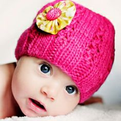How much sweeter can you get!! And the hat is adorable too!
