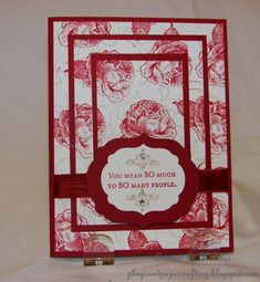 Triple Time Stamping CASE by Playwriter - Cards and Paper Crafts at Splitcoaststampers