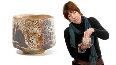 Lisa Hammond 'Chawan (716)' by goldmarkart.com. To purchase this Lisa Hammond pot call or email the Goldmark Gallery on +44 (0) 1572 821424 or info@goldmarkart.com