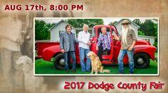 Wisconsin Event:  The Oak Ridge Boys   2017 Dodge County Fair near Beaver Dam Wisconsin