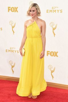 Emmys Red Carpet: All The Looks That Matter | The Zoe Report--- Taylor Schilling