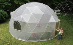 Domes for a greenhouse, for around a chicken coop ...
