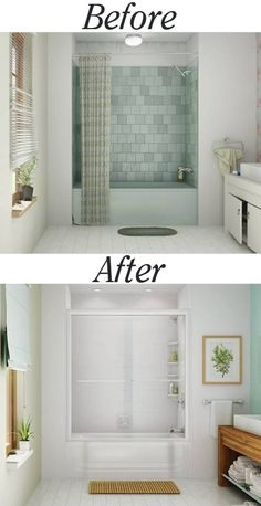 4 Free Tricks: Stand Up Shower Remodeling Modern shower remodeling with curtain.Stand Up Shower Remodel Diy shower remodel diy.Shower Remodel Diy How To Build. Tub To Shower Remodel, Bathtub Shower, Master Shower, Diy Shower, Bath Tub, Master Bathroom, Fitted Bathroom, Small Bathroom, Bathroom Ideas