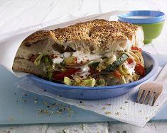 Gemüse-Döner Rezept | LECKER Bagel, Vegetarian Recipes, Sandwiches, Goodies, Veggies, Pizza, Mexican, Bread, Ethnic Recipes