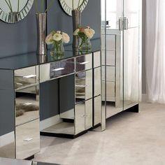 Venetian Mirrored Bedroom Furniture Collection | Dunelm