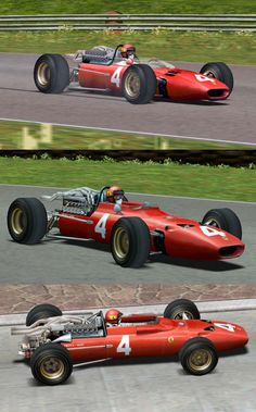 F1Legends : Châssis Ferrari pour Grand Prix Legends