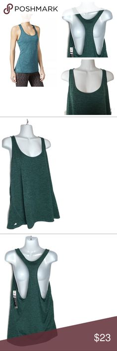 INC Green Racerback Scoop Neck Top Athletic XXL INC Green Racerback Scoop Neck Tank Top Athletic XXL T136Manufacturer: INC  Size: XXL Size Origin: US Manufacturer Color: Moonlight Teal Retail: $59.50 Condition: New with tags Style Type: Shirts & Tops Collection: INC Sleeve Length: Sleeveless Bust Across: 22 Inches Material: 100% Polyester Fabric Type: Heathered Specialty: Printed INC International Concepts Tops Tank Tops