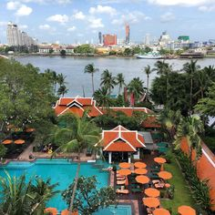 Anantara Riverside Bangkok Resort  #AnantaraRiverside #Resort #Hotel #Thonburi #MyKrungthep #Bangkok Hidden Treasures, Water, Outdoor, Gripe Water, Outdoors, Outdoor Living, Garden, Aqua