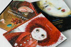 Maluszkowe inspiracje: O książkach pięknych niczym kwiaty...