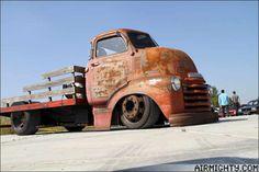 Old Chevy Slammed