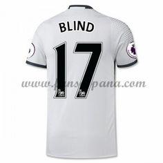 Camisetas De Futbol Manchester United Blind 17 Tercera equipación 2016-17