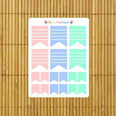 Planner Flags by MioCartaPesta
