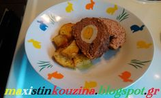 Μάχη στην κουζίνα: Ρολό Κιμά Με Βραστά Αυγά