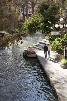 The Riverwalk, Downtown San Antonio, Texas