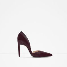 HIGH HEEL D'ORSAY SHOES from Zara