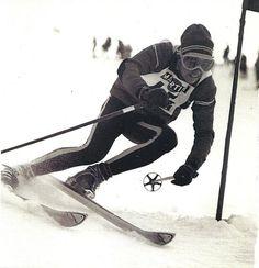 Racing in Austria, 1967. # vintage skiing
