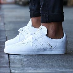 adidas - Baskets 350 BB2781 Footwear White Core Black - LaBoutiqueOfficielle.com