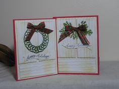 Christmas Door Front Card 16