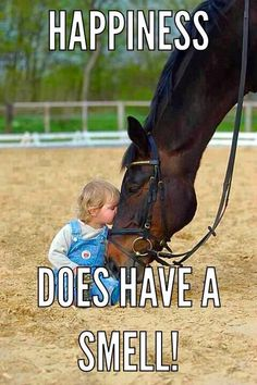 Happiness does have a smell | Horse quotes | | Lovely horse quotes | | quotes bout horse | | cowgirl | | cowgirl life |Horsequotes #cowgirl http://www.islandcowgirl.com