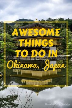 """7 Awesome Things to do in Okinawa, Japan. Okinawa is located in the southern most region of Japan. It is a small group of islands scattered around a larger island which makes up the main city and most of Okinawa. This main island is called Okinawa """"honto"""