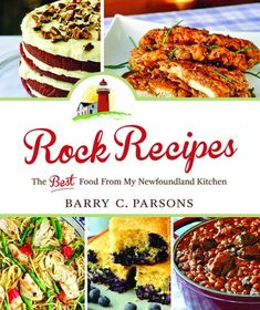 Rock Recipes - Barry C. Parsons-From Rock Recipes creator Barry C. Parsons' home kitchen to yours – Rock Recipes: The Best Food from my Newfoundland K Honey Garlic Pork Chops, Honey Garlic Chicken, Garlic Oil, Newfoundland Recipes, Newfoundland Canada, Rock Recipes, Glazed Chicken, Most Popular Recipes, Pork Loin