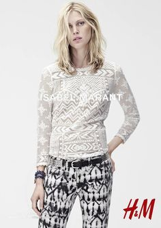 Isabel Marant pour H&M: alle campagnebeelden - Fashionscene - Fashion, Beauty, Models, Shopping, Catwalk