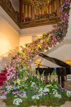 Bridal Style: Halfpenny London 2017 Collection at The Ritz Wedding Staircase, Wedding Entrance, Wedding Flower Arrangements, Wedding Bouquets, Wedding Flowers, Wedding Show, Wedding Pics, Boho Wedding, Wedding Ideas