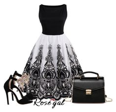 """""""Rosegal"""" by samed-85 ❤ liked on Polyvore featuring vintage"""