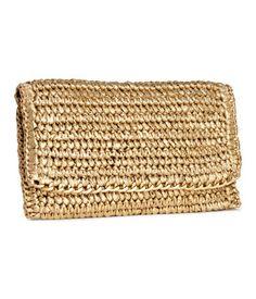 H&M Straw Clutch Bag $9.95