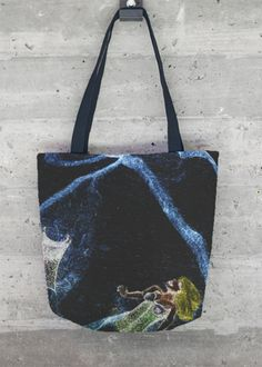 VIDA Foldaway Tote - Leaves & Vines by VIDA 4tmM828Ow
