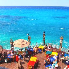 Jimmy Buffett's Margaritaville Cozumel, Mexico  This is a great place to visit - the restaurant and the city!